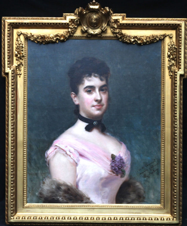 Nina Fagnani by Raimundo de Madrazo y Garreta at Richard Taylor Fine Art