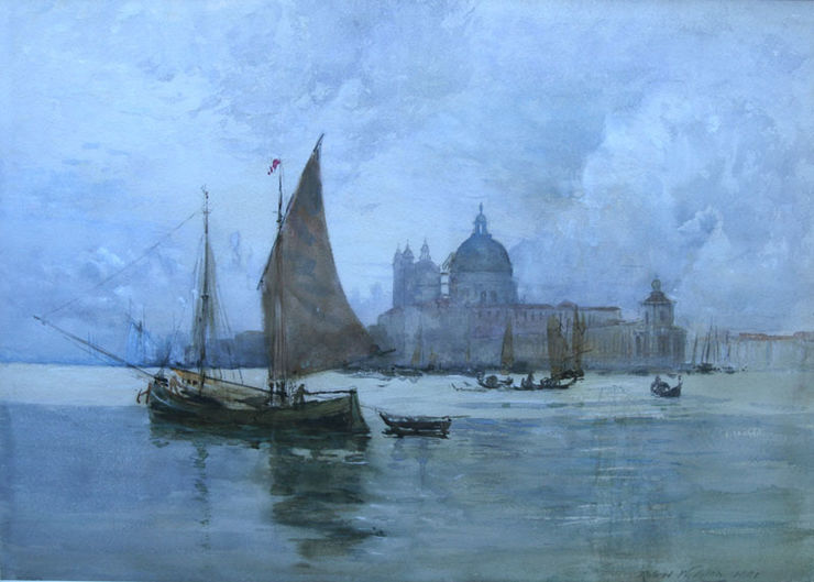 Venice watercolour by Scottish Impressionist Robert Weir Allan Richard Taylor Fine Art