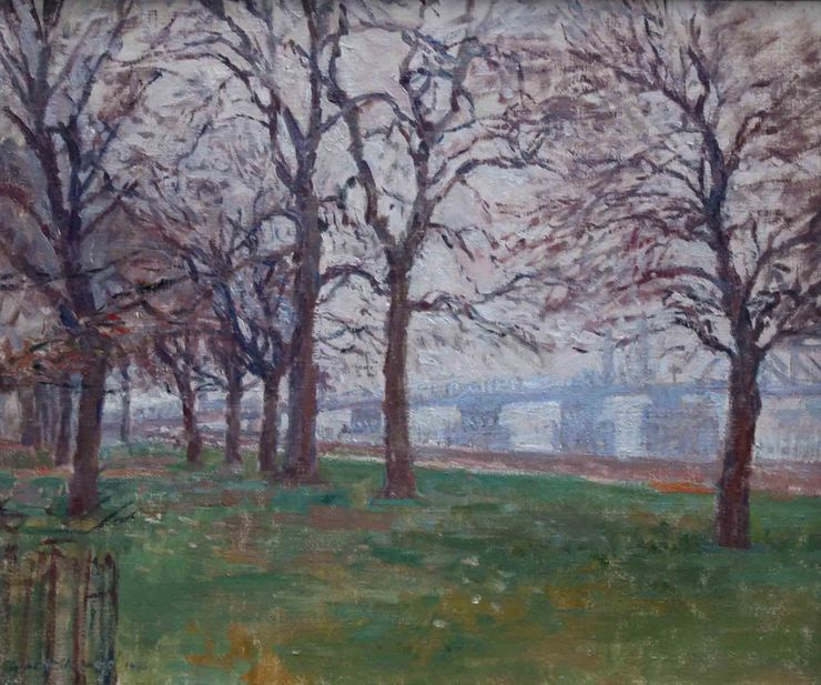 Battersea Park London 1945 by Rupert Shepherd Richard Taylor Fine Art