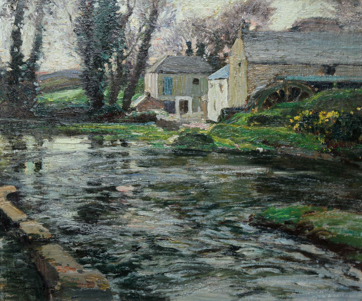Samuel Lamorna Birch - British Cornish Post Impressionist - Richard Taylor Fine Art