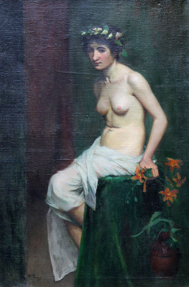 Female Nude by Sara  Wells Page Richard Taylor Fine Art