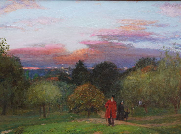 Sir David Murray - Chelsea - Pensioner - Hampstead -  Richard Taylor Fine Art
