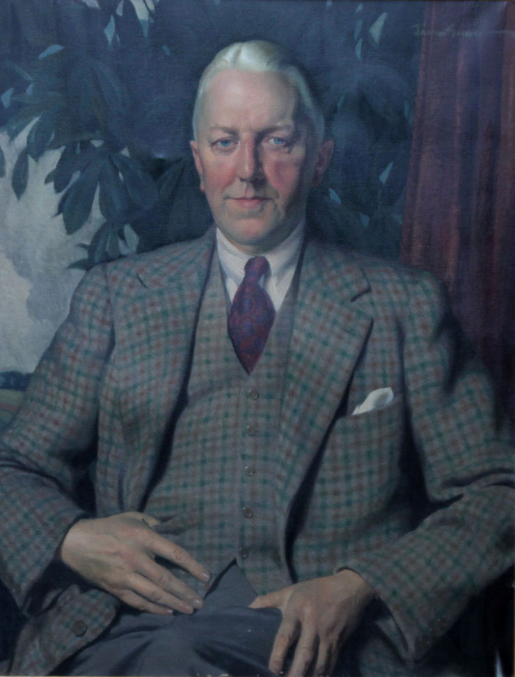 Sir Alexander Roger by Herbert James Gunn Richard Taylor Fine Art