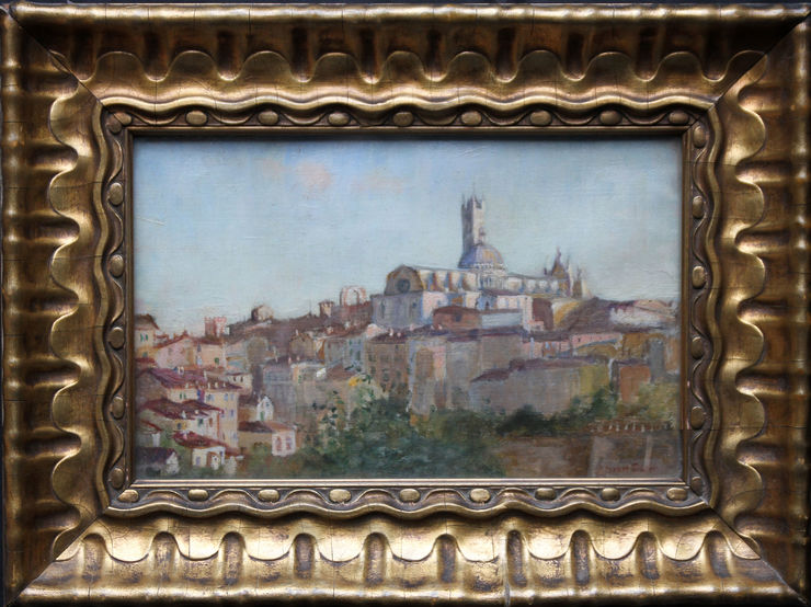 Sienna Italy by Susan Isabel Dacre Impressionist at Richard Taylor Fine Art
