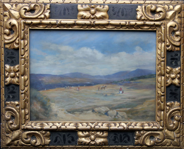 Spanish Landscape by Susan Isabel Dacre Impressionist at Richard Taylor Fine Art