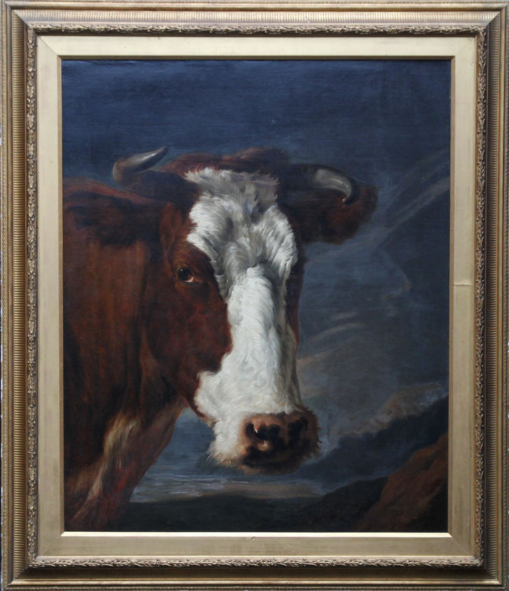19th Century Cow Portrait by Thomas Sidney Cooper at Richard Taylor Fine Art