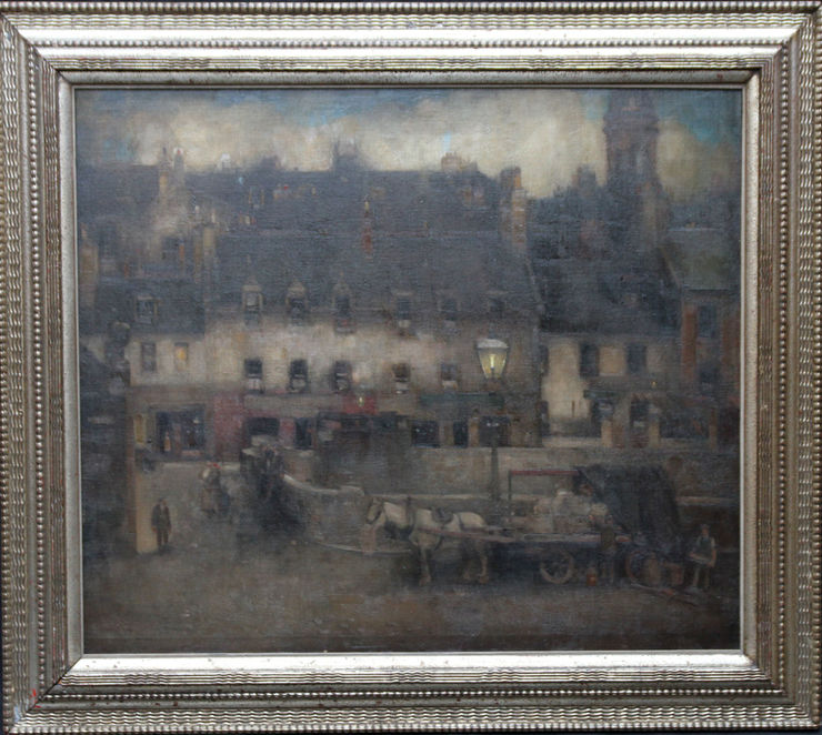 Scottish Impressionist oil painting by Thomas Campbell Mackie at  Richard Taylor Fine Art