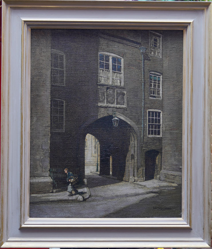 Lincoln's Inn Gatehouse London by William Dacre Adams at Richard Taylor Fine Art