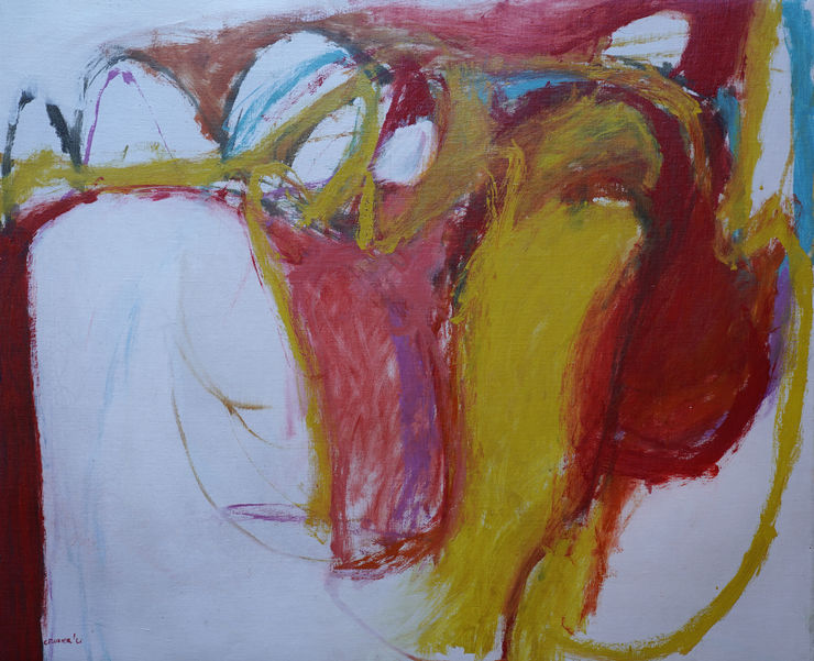 Scottish Abstract 1961 by William Crozier Richard Taylor Fine Art
