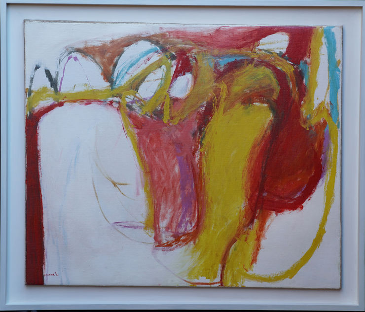 Scottish Abstract Art by William Crozier at Richard Taylor Fine Art