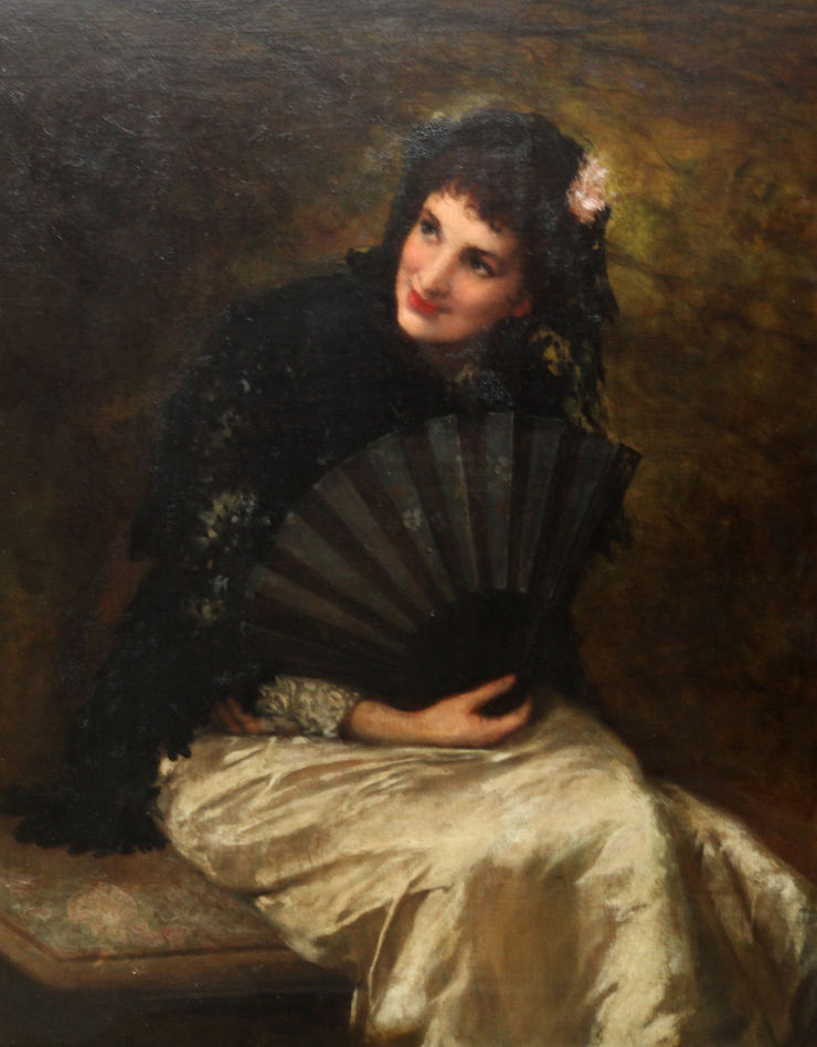 William Oliver - Spanish Beauty - Richard Taylor Fine Art