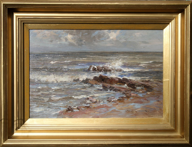 Seascape Scotland by William Bradley Lamond at Richard Taylor Fine Art