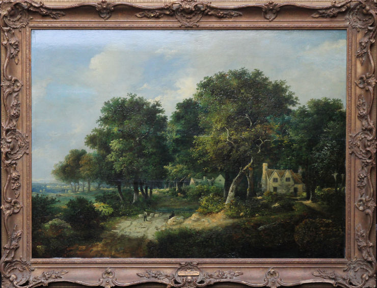 Norwich School Landscape by William Henry Cromer available at Richard Taylor Fine Art