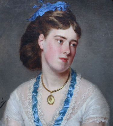 Portrait of Louisa Chambres