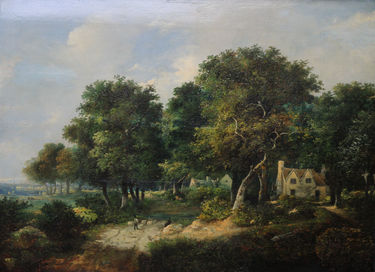 Landscape with Cottages and Sheep