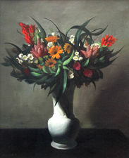 Dutch Art Deco Floral Arrangement by Adriaan Van't Hoff Richard Taylor Fine Art