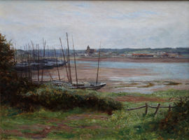 ../Hayle Cornwall by Alfred East Richard Taylor Fine Art