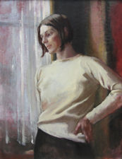 Portrait of Contemplation by Alice Mary Burton Richard Taylor Fine Art