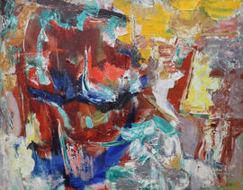 Australian Abstract 1961 by Anthony Underhill available at Richard Taylor Fine Art