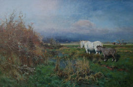 Arthur William Redgate Nottinghamshire Landscape Richard Taylor Fine Art