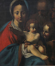 ../Bartolomeo Schedoni The Holy Family Old Master Portrait Richard Taylor Fine Art