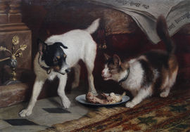 carl suhrlandt -cat dog -richard taylor fine art