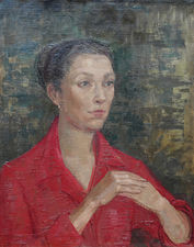 British Fifties Female Portrait by Constance Anne Parker Richard Taylor Fine Art