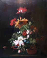 Cornelius Kick (circle) - old master floral - Richard Taylor Fine Art