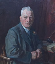 Scottish 1940's Male Portrait by David Alison Richard Taylor Fine Art