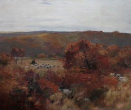 Pastoral Landscape by David Fulton Richard Taylor Fine Art