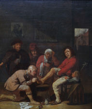 Dutch Old Master  of Surgeon by David Teniers the Younger Richard Taylor Fine Art