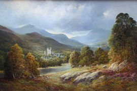 Balmoral Scottish Landscape by Douglas Falconer Richard Taylor Fine Art