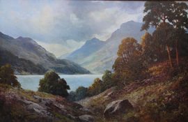 Loch Lubenig by Douglas Falconer Richard Taylor Fine Art