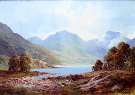 Loch Tulloch by Douglas Falconer Richard Taylor Fine Art