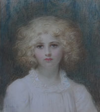 Victorian British Female Portrait by Edward Tayler Richard Taylor Fine Art