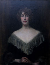 ../edwardian lady - emily muirhead -portrait -richard taylor fine art