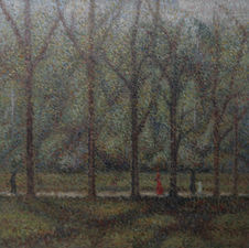 Post Impressionist Hyde Park by Elliott Seabrooke Richard Taylor Fine Art
