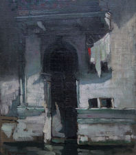 Venetian Palace Doorway by Ethel Maud Raeburn Richard Taylor Fine Art