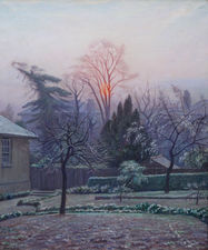 ../Blackheath London Garden by Francis Dodd Richard Taylor Fine Art