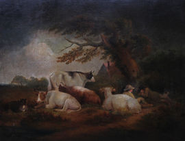 British Landscape Old Master by George Morland Richard Taylor Fine Art