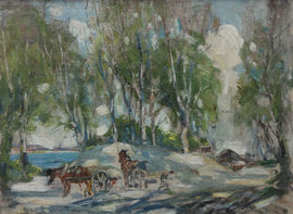 George Smith - Scottish Colourist Impressionist Landscape - Richard Taylor Fine Art