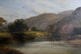 ../Victorian British Landscape Art by George Cole Richard Taylor Fine Art
