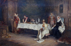 Mary Queen of Scots in Holyrood by George Hay Richard Taylor Fine Art