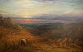 Oft Did The Harvest to The Sickle Yield by George Lucas  Richard Taylor Fine Art