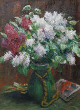 george mosson - floral bouquet - german expressionist - richard taylor fine art (1)