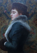 Edwardian Portrait by Gerald Edward Wellesley Richard Taylor Fine Art
