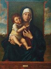 Madonna and Child Old Master by Giovanni Bellini Richard Taylor Fine Art