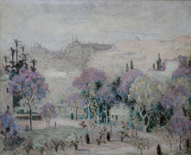 View of Istanbul Turkey by Gladys Nolan Richard Taylor Fine Art