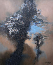 glyn morgan - winter plants  -richard taylor fine art