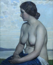 Harold Knight - The Maiden - Richard Taylor Fine Art
